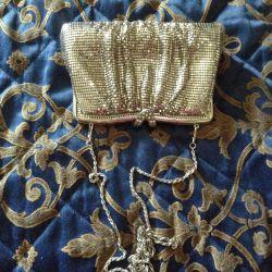 Tiyatro el çantası, renkli gümüş