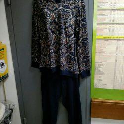 Trouser suit r. 56 (cotton 100%)