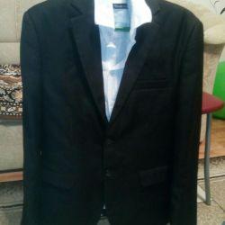 Suit (3 ka), shirts, jeans
