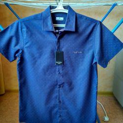νέο χαριτωμένο καλοκαιρινό πουκάμισο μέγεθος 46