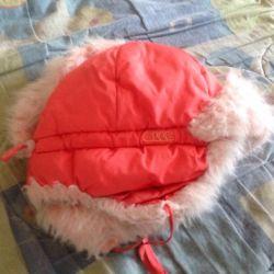 3-5 yaşında bir kız için şapka.