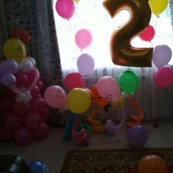 Doğum günü dekorasyon