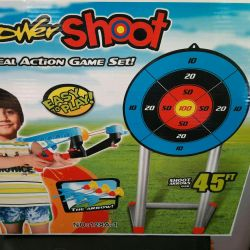 New game set - the Crossbow with a target