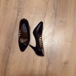 Shoes natures leather r 36