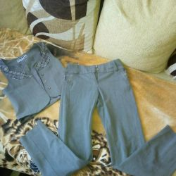 Vest and pants for school 122-134