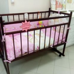 Children's bed Mishutka 13