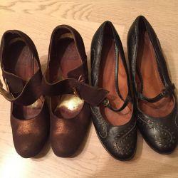 Туфли, ботинки б.у натуральная кожа