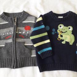 Μπλούζες για μωρά 6-12 μήνες