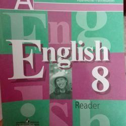 İngilizce dil notu 8. Okumak için kitap.