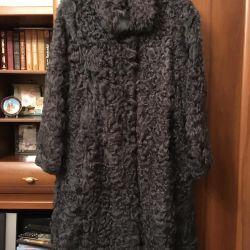 New goat fur coat