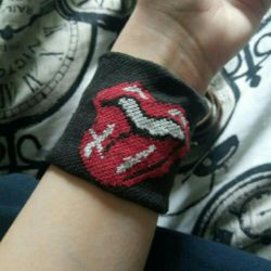 Rolling Stones Wristband
