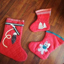 Κάλτσες για δώρα του νέου έτους