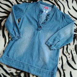 Denim dress for girls 👧