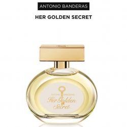 Antonio Banderas Eau De Toilette Her Golden Secret