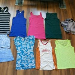 T-shirts and tops 42-44-46 size