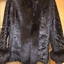 Koyun derisi ceket ile koyun derisi ceket