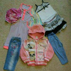 Пакет детской одежды 80 размера