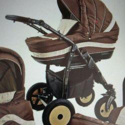 stroller 2/1 + gifts