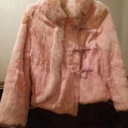 Fur coat, natural