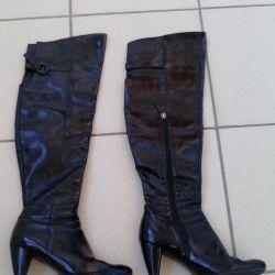 Treads 36 demi-season leather