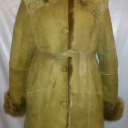 Δερμάτινο παλτό 46-48