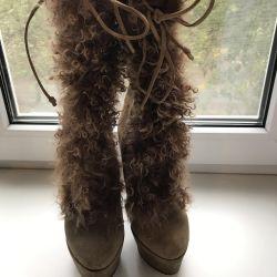 Doğal Kış Çizmeleri