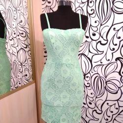 Платье ажурное нежное