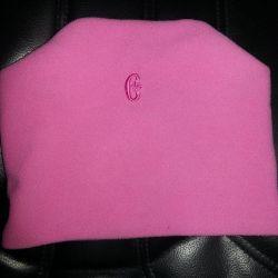 Pink Fleece Cap