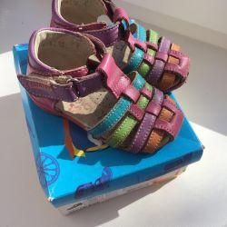 Сандалии, туфли, обувь детская, 20 размер Котофей