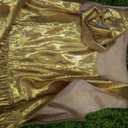 Rochie elegant! mătăsosul brocart