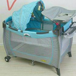 Дитяче ліжко-манеж Selby 214