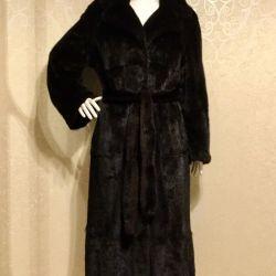 Mink blana haina negru Grecia