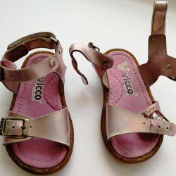 Sandals 21r., 14cm.