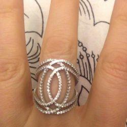 Δαχτυλίδι κομψό ασήμι 925