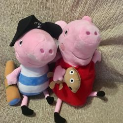 New pig Peppa and brother George