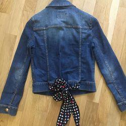 Denim jacket Moschino