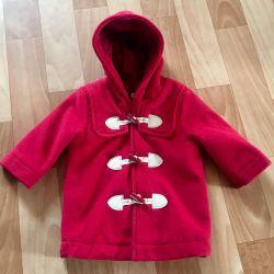 Μωρό παλτό Benetton 62cm