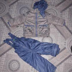Suit (jacket + overalls) 74-80