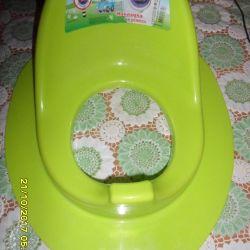 New toilet seat.