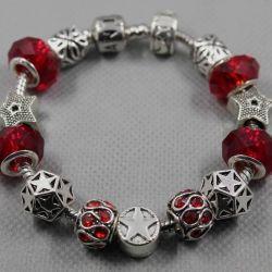 Bracelet in the style of Pandora 0762