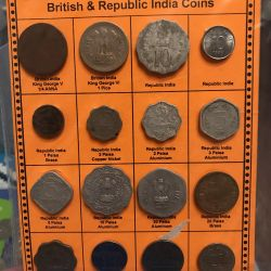 Set of coins India (goa)