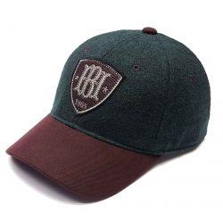 Бейсболка зимняя HB мужская (зеленый)