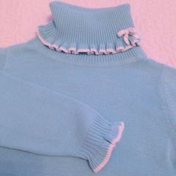 Cotton turtleneck р.98