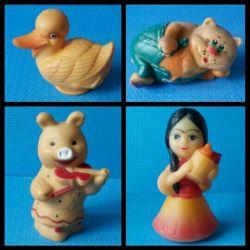Rubber toys. Lizun new