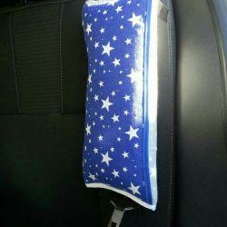 Подушки-накладки на ремни безопасности