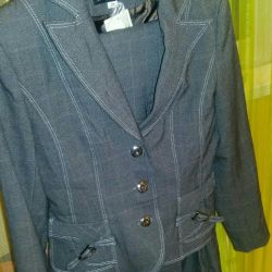 New three-piece suit for women