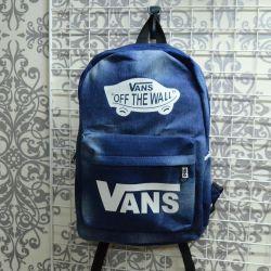 Vans Denim Backpack