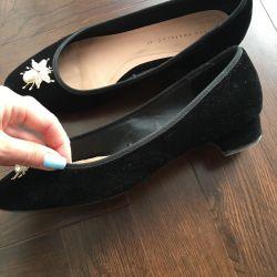 Zara Velcro Ballet Shoes