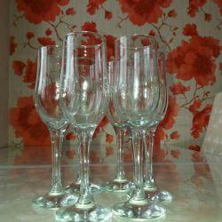 Ποτήρια κρασιού 6τμ. Ύψος 21 εκ
