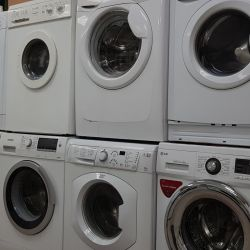 Washing machines, with warranty, delivery